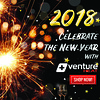 HAPPY NEW YEAR 2018 FROM VENTURE HEAT HEATED CLOTHING (Venture_Heat) Tags: heated clothing gear apparel pants shirts vests hoodie sweaters jackets gloves venture heat