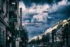 Schleißheimer Sky (orkomedix) Tags: canon g9x outdoor munich city sky postprocessing clouds drama schleisheimer
