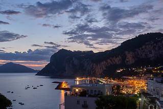 Waking up in Capri