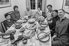 365/365 Family and food, great end to the year (garyjones1959) Tags: 365365 3652017 365 365the2017edition leica leicatl tl tllens 1123 bw blackandwhite black white monochrome family faces food company good times happy new year