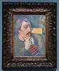 2017/12/24 15h59 Paul Gauguin, «Autoportrait à l'idole» (vers 1893), exposition «Gauguin. L'Alchimiste» (Grand Palais) (Valéry Hugotte) Tags: 24105 autoportraitàlidole gauguin grandpalais paris paulgauguin autoportrait canon canon5d canon5dmarkiv exposition painting peinture tableau îledefrance france fr