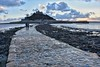 Causeway (Nige H (Thanks for 11m views)) Tags: nature landscape cornwall causeway stmichaelsmount lowtide seascape sunset england seaweed westcountry southwestengland