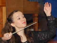 Ondine Conducting Prokofiev's Romeo and Juliet (Emily1957) Tags: daughter conductor orchestra music hands baton nikon nikond40 kitlens musician rehearsal live livemusic assistantconductorbcco bcco berkeleycommunitychorusandorchestra