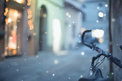 A blurry bike _ #34/100 Bike Project (pierfrancescacasadio) Tags: dicembre2017 forlì 31122017840a4311 bicycle 100bicycles project detailed details bikes bike cycling 100bicyclesproject 34 50mm blur