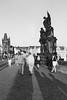 Karlov Most (Michael Erhardsson) Tags: prag tjeckien resa 2017 svartvitt black white