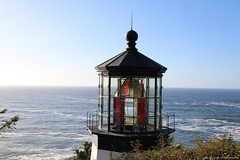 Oregon Lighthouse (elianek) Tags: unitedstates estadosunidos usa eua oregon coast litoral pacifico pacific oceano mar sea ocean farol lighthouse