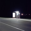 - - (Alexis Szyd.) Tags: analog argentique analogue alexisszyd mediumformat moyenformat mittelformat 6x6 120film newtopographics suburbs night bus stop