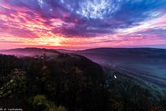 Sonnenaufgang Küssaburg 04112017 (Daniel Czichowsky) Tags: sunrise sonnenaufgang küssaburg waldshut klettgau schwarzwald canon eos 70d 1018mm weitwinkel