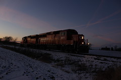 The 6F shot..... (MILW157) Tags: cp rail canadian pacific railroad waterloo spur watertown train track