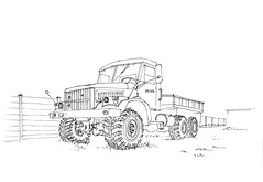 KrAZ-255 Truck, 21.08.2017 (Namtra) Tags: tanne oberharz oberharzambrocken harz kraz kraz255 lkw truck allrad