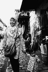 A Smile (Meljoe San Diego) Tags: meljoesandiego fuji fujifilm x100f streetphotography street vigan candid monochrome philippines