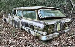 Ford Fairlane Wagon 1 (Photos By Vic) Tags: ford fairlane wagon stationwagon rust rusty northcarolina nc abandoned neglected