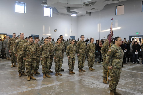 224th Area Support Medical Company Deployment Ceremony