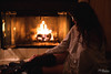 By The Fire (MC Illusion) Tags: fire fireplace cold warm hot winter house inside location photo photography leg warmer sweater flashdance coffee model modeling expressive mcillusionphotography mcillusion