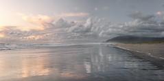 Changing Weather in Karamea (Peter Kurdulija) Tags: geo:lat=4124763600 geo:lon=17211148720 geotagged karamea marketcross newzealand nzl westcoast new zealand west coast sand beach nature sunset cloud colour wave travel landscape kurdulija