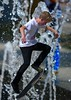 Skateboard Skills (Scott 97006) Tags: kid skateboard skill trick coordinated practice midair