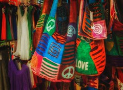 love, peace and happiness (try...error) Tags: red blue green yellow rot gelb blau bag hippie summer sun love