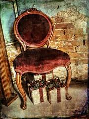 Corner Chair (clarkcg photography) Tags: chair corner presents brick plaster modified application tones light texture slide sliderssunday