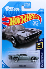 HW 2018 - Collector # 079-365 HW Screen Time 8-10 Ice Charger - Copy (2) (Diecast Cars & Other Collectables) Tags: fast fate furious furious8 dodge ice charger hot wheels hotwheels