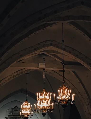 Midnatssmässa i Raus kyrka