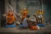 Kalighat, quartier des fabricants d'idôles, Calcutta,  Bengale occidental, Inde (Pascale Jaquet & Olivier Noaillon) Tags: durga artisan idoles scènederue religionhindouisme artisanat ambiance sculptures calcutta bengaleoccidental inde ind