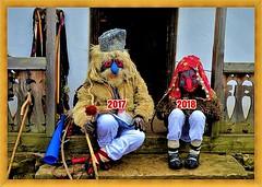 Happy  New Year 2018! / La multi ani 2018! (Ioan BACIVAROV Photography) Tags: newyear 2018 newyear2018 lamultiani romania romanian traditions romanianvillages people mask ceremonials ugly beautiful elder gypsy devil humor humour umor 2017