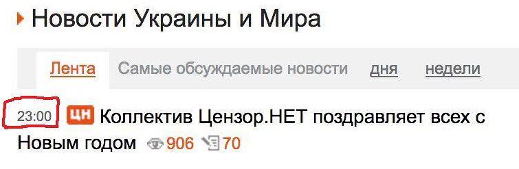 Кримчани святкували Новий рік за українським часом і слухали привітання Порошенка - Цензор.НЕТ 994