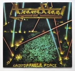 Agent Steel Unstoppable Force (vinylmeister) Tags: vinylrecords albumcoverphotos heavymetal thrashmetal deathmetal blackmetal vinyl schallplatte disque gramophone album