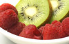 Fruit bowl ... Day 7/365 (judith511) Tags: kiwifruit raspberry fruit food red green 365the2018edition 3652018 day 7365 07jan18