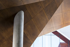 abstract (Greg Rohan) Tags: abstract roof support brown d750 2017 ceiling sydney architecture nikkor nikon
