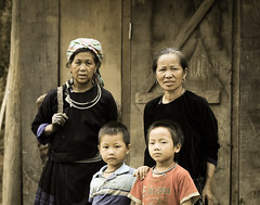 Portrait of Hmong people in Vietnam (phuong.sg@gmail.com) Tags: asia asian baby black child china clothes clothing colorful costume craft culture dress ethnic fabric face farmer fashion female girl handicrafts happy hilltribe hmong home indochina laos minority mountain national people portrait poverty reservation rural sapa tourism tradition traditional travel tribal tribe turban vietnam vietnamese village woman women