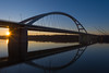 Danube bridge2 (bakosgabor57) Tags: bridge river sunset nikon d7200 175528 sky blue water