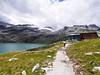 Wanderurlaub auf der Rudolfshütte - im Hintergrund der Sonnblickkees (gernotp) Tags: berg ort rudolfshütte salzburg see stausee urlaub uttendorf wandern wanderurlaub weissee grl5al grv4al österreich
