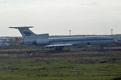 Tupolev TU-154M RA-85704 Zapolyarye (EI-DTG) Tags: planespotting aircraftspotting moscow domedodevo dme 17sep2015 tupolev154 tu154 russianaircraft russia trijet derelict boneyard ra85704 zapolyarye