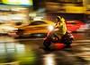 red vespa (dr.milker) Tags: vespa rain taiwan taipei night color speed street urban man people scooter ningbowestroad 台灣 台北 寧波西街 街拍 機車 偉士牌 彩色 紅色 都市 夜晚 下雨 人 男生 速度