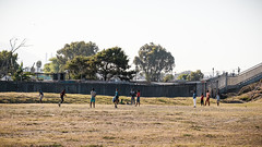 Roadside Soccer (BrianEden) Tags: za xpro2 football fujifilm playing southafrica futball travel township fuji field capetown soccer travelphotography travelphotographer