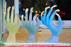 The Icy Hands Of Winter (Trish Mayo) Tags: hands fingers nails nailart windowdisplay