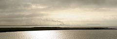 industrial area (Carsten Weigel) Tags: light shadow licht schatten nikon d700 carstenweigel panorama industrie dunst nebel fog haze wismar germany deutschland