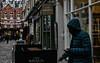 Smoking (PChamaeleoMH) Tags: bleachbypass carnabystreet centrallondon colorefexpro4 london nik smoke smoking whiteneutralizer