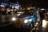 winter weather in Belfast (teedee.) Tags: winter weather belfast cab taxi city sleet rain wet hall blue