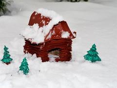 Russian Hut (Gregorigami) Tags: andrey ermakov ioio2017 russian hut hütte origami paperart creasepattern russianhut