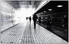 tunnel (Kruijssen) Tags: fujifilm x30 bw zwart wit black white streetphoto street straat amsterdam