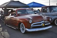 Mooneyes X-Mas Party 2017 (USautos98) Tags: 1950 ford shoebox hotrod streetrod kustom rockabilly scalloppaint
