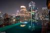 Infinity pool at Bangkok Indigo Hotel (patuffel) Tags: bangkok indigo hotel wireless road pool night