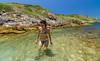 Joana curtindo (mcvmjr1971) Tags: 2017 brazil d7000 diego maricá nikon barco bluesky céuazul ilhasmaricá island itaipuaçu lenstokina litoral marverde maravilhoso mmoraes riodejaneiro sea seaside tokina travel trilha trilhandocomdidi