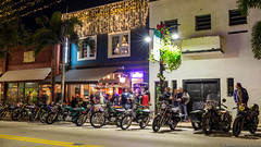 20171214 5DIII Lost Weekend WPB 25 (James Scott S) Tags: westpalmbeach florida unitedstates us clematis strt street christmas bokeh dof 35mm sigma canon 5diii moto motorcycle biker ride vintage night