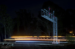 Hi-Rail Inspection (Patrick Dirden) Tags: hirail truck vehicle motion blur light streak night nightphotography signal railroadsignals up unionpacific unionpacificrailroad rail railroad upmartinezsub pinole contracostacounty pinoleca eastbay sanpablobay bayarea sanfranciscobayarea northerncalifornia california