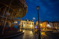 """moody fine art night at the Vieux Bassin of Honfleur - sleeping carousel, Hotel de Ville, Calvados, Normandy France (grumpybaldprof) Tags: canon 70d """"canon70d"""" sigma 1020 1020mm f456 """"sigma1020mmf456dchsm"""" """"wideangle"""" ultrawide """"fineart"""" ethereal striking artistic interpretation impressionist stylistic style contrast shadow bright dark illuminated longexposure honfleur normandy normandie france calvados """"vieuxbassin"""" """"oldharbour"""" """"quaistecatherine"""" """"quaiquarantaine"""" quai """"quaistetienne"""" """"stecatherine"""" """"lalieutenance"""" quarantaine water boats sails ships harbour historic old ancient monument picturesque restaurants bars town port colour lights reflection architecture buildings mooring sailing stone collombage halftimbered yachts carousel merrygoround reflections """"waterreflections """"wetreflections""""funfair """"eglisesaitecatherine"""" yacht voillier"""