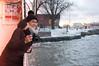 Photographer girl (Juha Helosuo) Tags: helsinki finland suomenlinna portrait photographer girl winter snow vibes cold ocean sea frozen happy smile people
