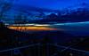 The Last Light (Mansoor Bashir) Tags: murree pakistan blue hour golden orange sky cloud cloudscape dusk sunset